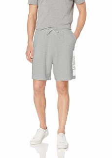 A|X Armani Exchange Men's Drawstring SweatShorts BROS BC05 Soft Grey S