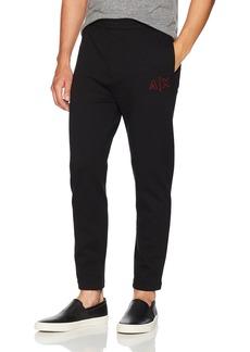 A X Armani Exchange Men's Drop Crotch Sweatpants