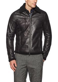 A X Armani Exchange Men's Eco Shearling Jacket
