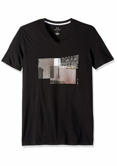 A|X Armani Exchange Men's Flag Graphic AX tee  M