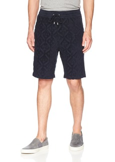 A X Armani Exchange Men's Print Shorts  L