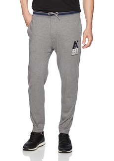 A X Armani Exchange Men's Heathered Tapered Sweatpants HTR Grey B30