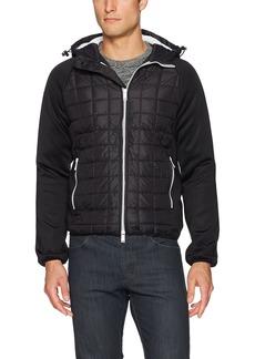 A X Armani Exchange Men's Hooded Nylon Blouson Jacket