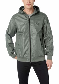 A|X Armani Exchange Men's Hooded Zip up Long-Sleeve Jacket  S