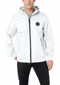 A|X Armani Exchange Men's Hooded Zip up Long-Sleeve Jacket  XL