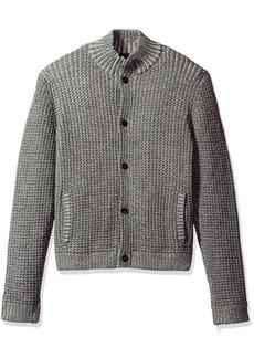 A X Armani Exchange Men's Knit Button up Cardigan