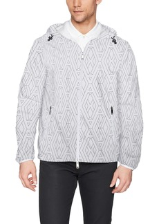 A|X Armani Exchange Men's Logo Printed Armani Activewear Jacket  M