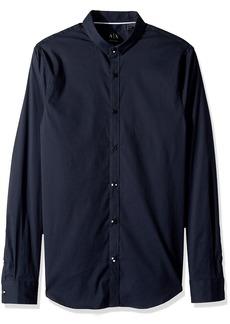 A|X Armani Exchange Men's Long Sleeve Stripe Shirt  S