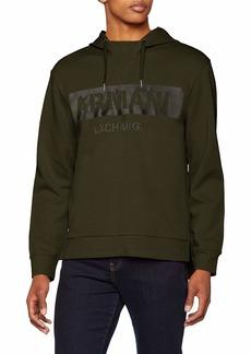 A|X Armani Exchange Men's Military AX Sweatshirt  M