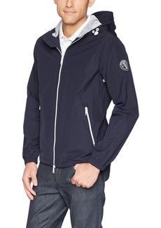 A|X Armani Exchange Men's Outdoor Jacket with Adjustable Hood  M