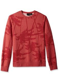 A|X Armani Exchange Men's Palm Tree Sweatshirt BS BROS B4504 W/PA M