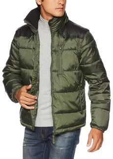 A|X Armani Exchange Men's Patch Puffer Down Jacket  L