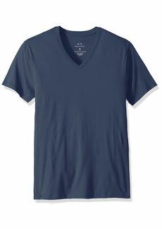 A|X Armani Exchange Men's Pima Cotton Jersey Short Sleeve Tshirt Sargasso sea XXL