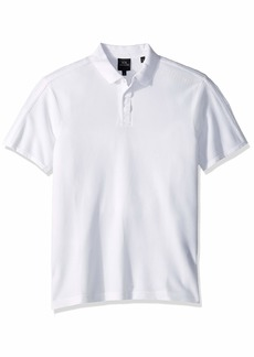 A|X Armani Exchange Men's Plain Short-Sleeve Polo Shirt  M