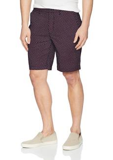 A X Armani Exchange Men's Polka Square Bermuda Shorts BS Navy/Squrs&Tring