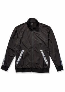 A|X Armani Exchange Men's Polyester Tricot Zip Up Jacket  L
