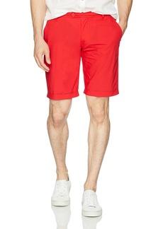 A X Armani Exchange Men's Poplin Bermuda Short Pants Absolute red