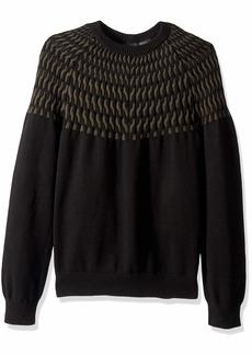 A|X Armani Exchange Men's Print Sweater  XXL