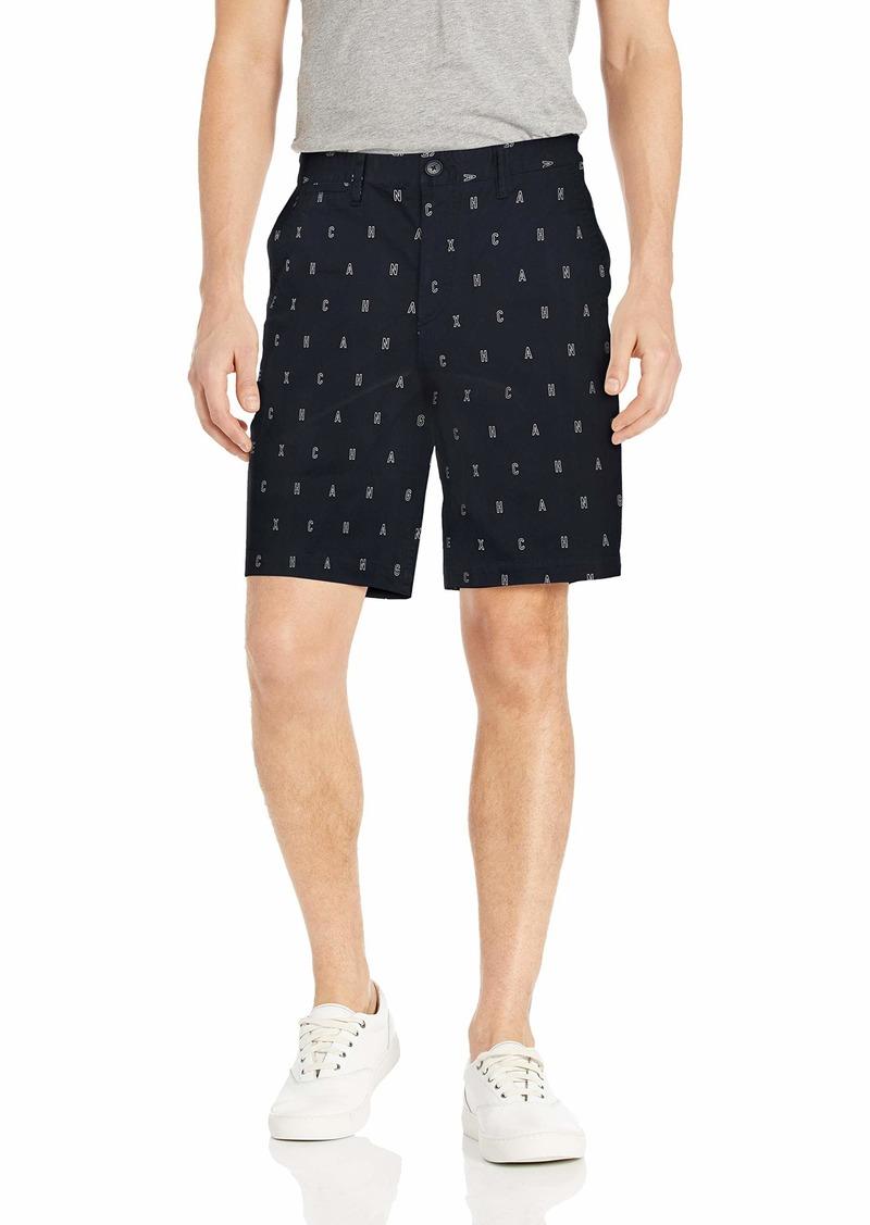 A X Armani Exchange Men's Printed Bermuda Shorts A- A-O Outline Logo BS