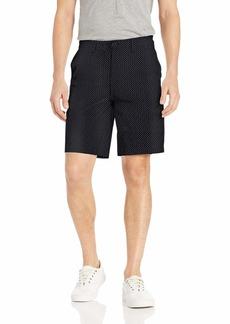 A|X Armani Exchange Men's Printed Bermuda Shorts Mix Logo A-O BS Navy