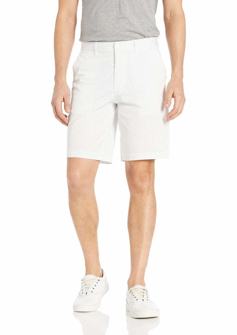 A X Armani Exchange Men's Printed Bermuda Shorts Mix Logo A-O BS Whit