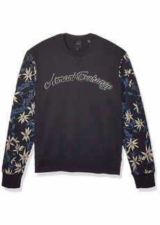 A|X Armani Exchange Men's Pullover deep Navy JAPANASE Bamboo L