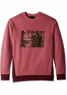 A|X Armani Exchange Men's Pullover Graphic Print Sweatshirt  M