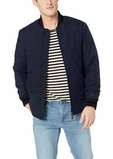 A|X Armani Exchange Men's Quilted Bomber-Style Jacket  S