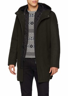 A|X Armani Exchange Men's Quilted Down Jacket peat XXL