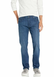 A|X Armani Exchange Men's Relaxed Straight Indigo Denim Jeans