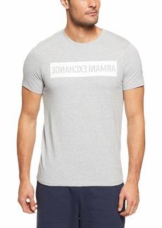 A|X Armani Exchange Men's Reverse Logo tee  S