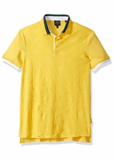 A|X Armani Exchange Men's Short-Sleeve AX Logo Polo Shirt  XL
