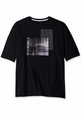A|X Armani Exchange Men's Short Sleeve Crew Neck Graphic Logo T-Shirt  XL