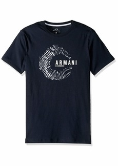 A|X Armani Exchange Men's Short Sleeve Crew Neck Graphic T-Shirt  M