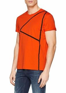 A|X Armani Exchange Men's Short Sleeve Crew Neck Large 'A' T-Shirt  M