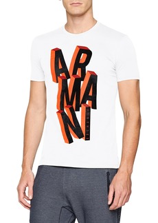 A|X Armani Exchange Men's Short-Sleeve Fallen Graphic T-Shirt  S