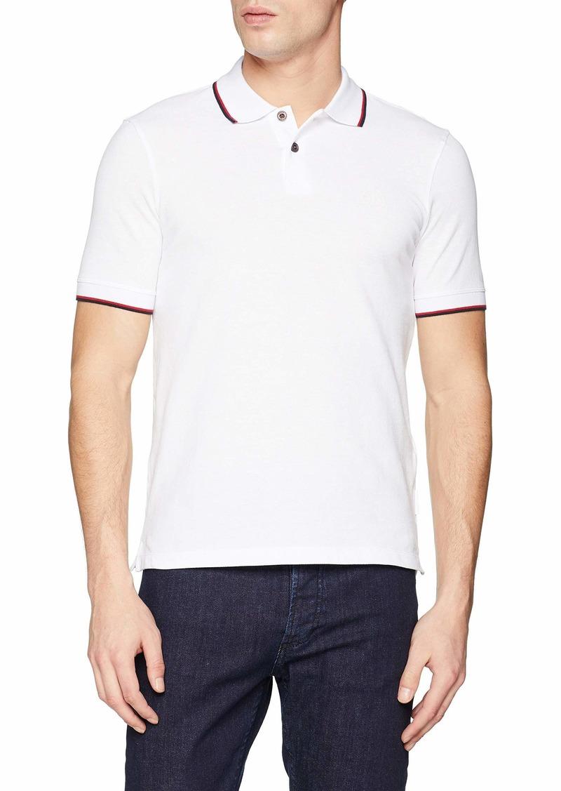 A|X Armani Exchange Men's Short Sleeve Jersey Knit Polo  XL
