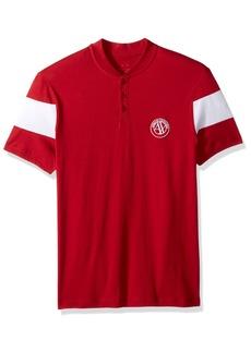 A|X Armani Exchange Men's Short Sleeve Organic Cotton Polo Shirt  M