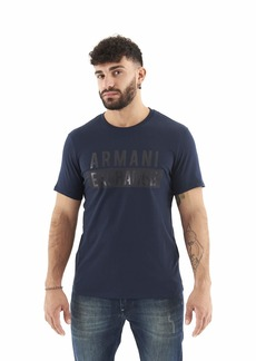 A|X Armani Exchange Men's Short Sleeve T-Shirt with Big Logo  XL
