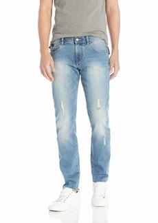 A|X Armani Exchange Men's Slim Back Pocket Patch Jeans