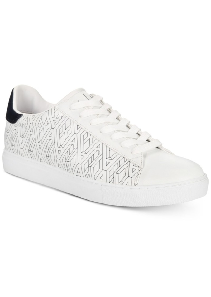 d9bd7f0a77dd AX Armani Exchange Men s Sneakers with All-Over Imprint Ax Pattern Men s  Shoes