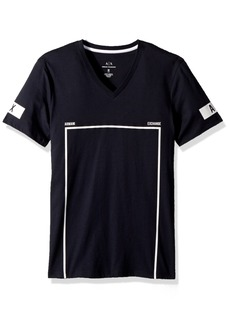 A|X Armani Exchange Men's Soccer Graphic tee  M
