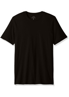 A|X Armani Exchange Men's Solid Colored Basic Pima Crew Neck