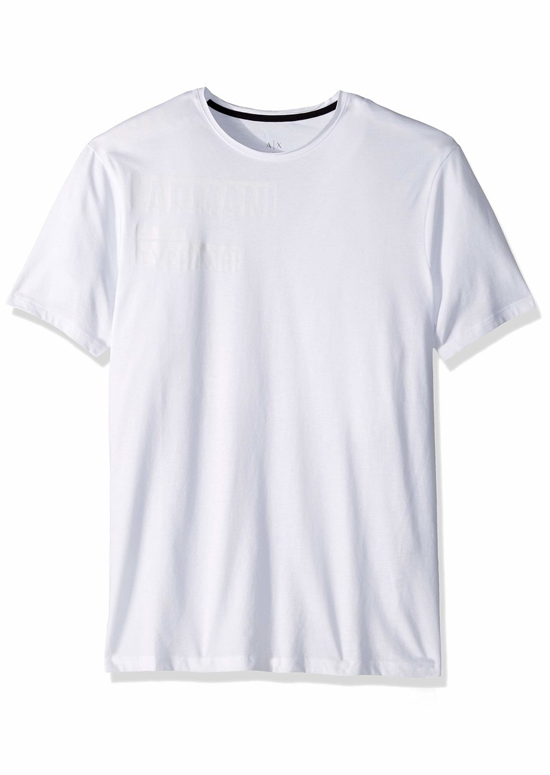 A|X Armani Exchange Men's Stamp Graphic tee  L