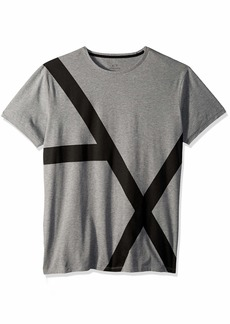 A|X Armani Exchange Men's Stretched Logo tee  XL