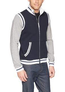 A|X Armani Exchange Men's Stripe vasity Jacket  XL