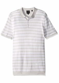 A|X Armani Exchange Men's Striped Polo Shirt  M