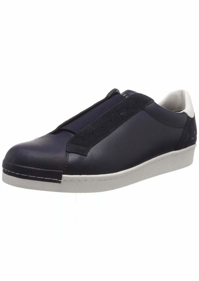 A|X Armani Exchange Men's Suede + Leather Slip On Sneaker   M US