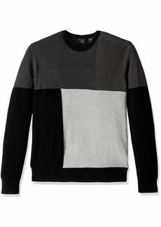 A|X Armani Exchange Men's Sweater Brush Black/Magnet/BN XL