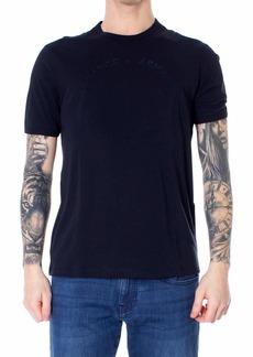 A|X Armani Exchange Men's Tonal Classic Circle Logo Short Sleeve Tee  XS